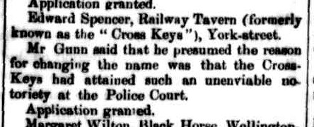 Launceston Examiner, 3 December 1863