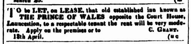 Cornwall Chronicle, 18 April 1846