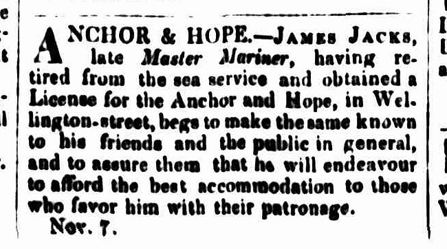 Cornwall Chronicle, 18 November 1840