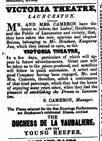 Launceston Advertiser, 28 April 1842