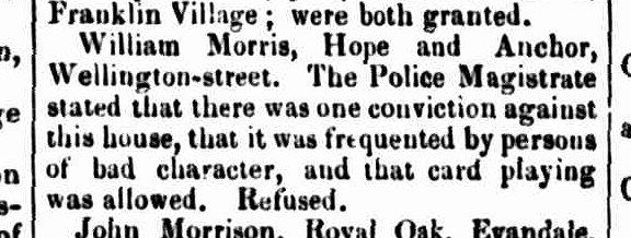 Launceston Advertiser, 3 September 1846