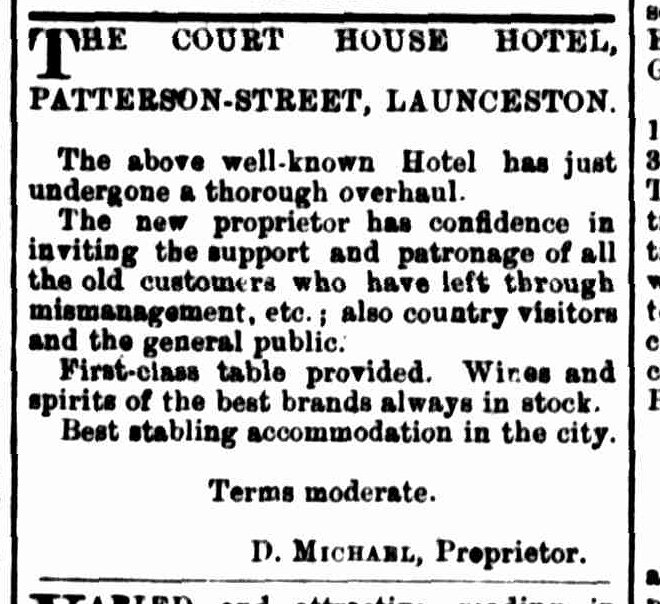 Launceston Examiner, 11 October 1890