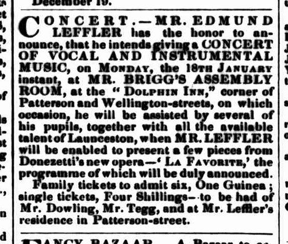 Launceston Examiner, 13 January 1847