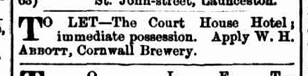 Launceston Examiner, 2 June 1886