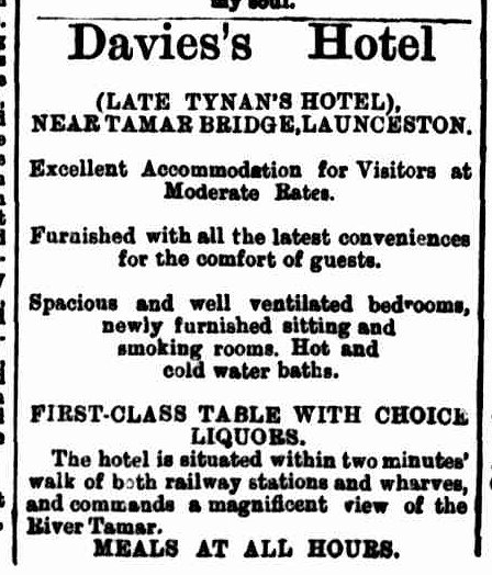 Launceston Examiner, 25 May 1892