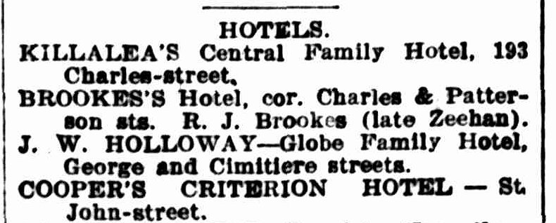 Launceston Examiner, 28 December 1899