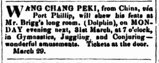 Launceston Examiner, 29 March 1851