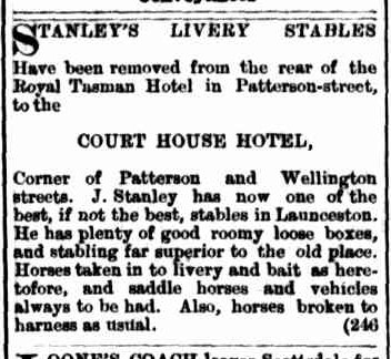 Launceston Examiner, 30 January 1886