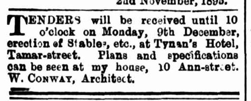 Launceston Examiner, 30 November 1895