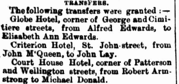 Launceston Examiner, 5 August 1890