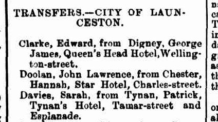 Launceston Examiner, 6 April 1892