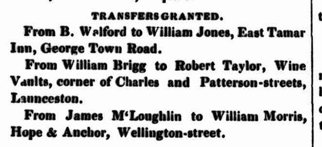 Launceston Examiner, 6 November 1844