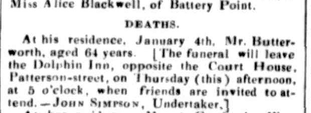 Launceston Examiner, 8 January 1859