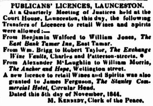 Courier, 19 November 1844