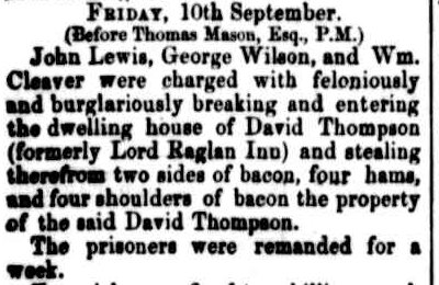 Cornwall Chronicle, 11 September 1869