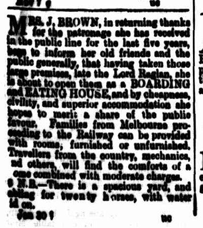 Cornwall Chronicle, 3 February 1869