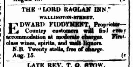Launceston Examiner, 16 August 1862