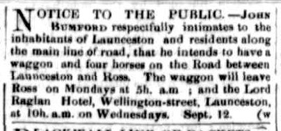 Launceston Examiner, 17 September 1859