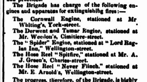 Launceston Examiner, 28 November 1861