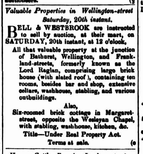 Launceston Examiner, 6 April 1872