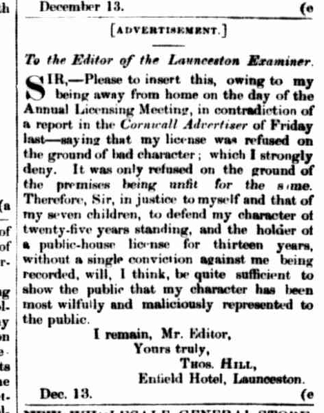 launceston-examiner-14-december-1861