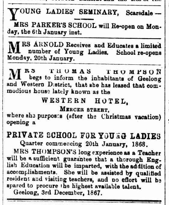 Ballarat Star, 1 January 1868