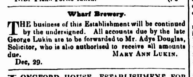 Cornwall Chronicle, 2 January 1850