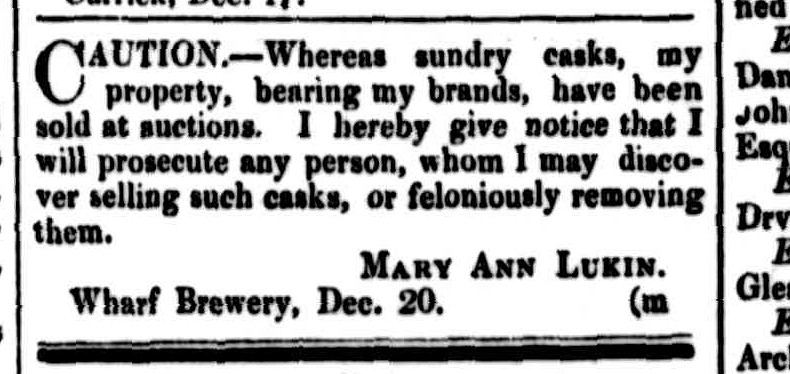 Cornwall Chronicle, 20 December 1851