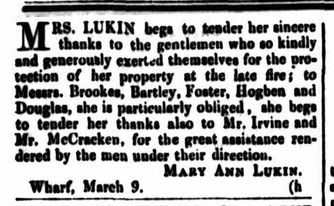 Cornwall Chronicle, 9 March 1853