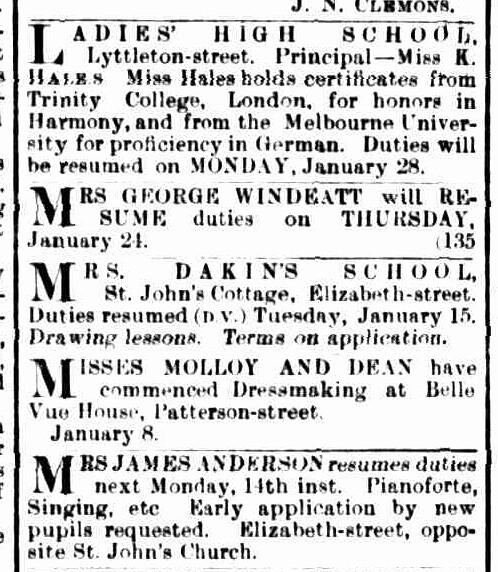 Daily Telegraph, 14 January 1889