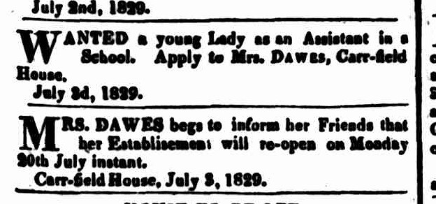 Hobart Town Courier, 4 July 1829