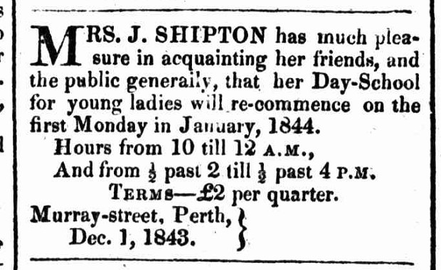 Perth Gazette, 9 December 1843