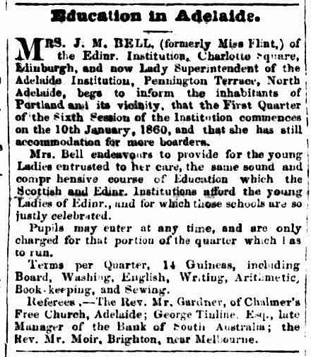 Portland Guardian, 2 January 1860