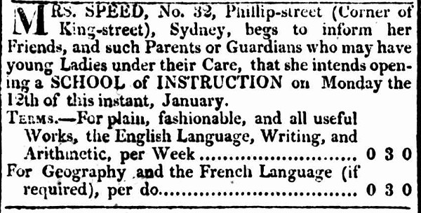 Sydney Gazette 4 January 1817