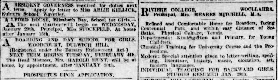 Sydney Morning Herald, 1 January 1913