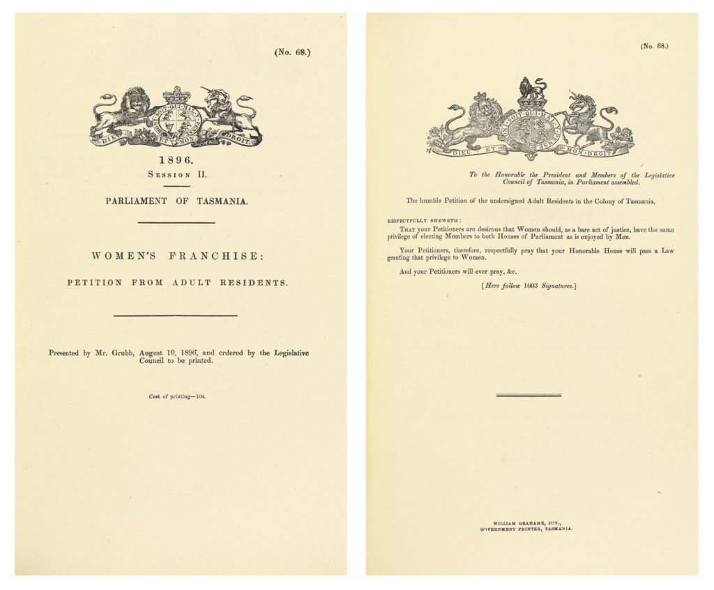 1896 Petition