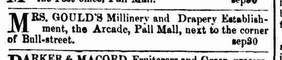 Bendigo Advertiser, 15 September 1855