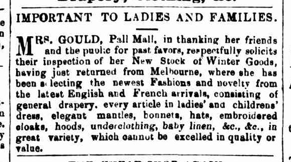 Bendigo Advertiser, 6 May 1859