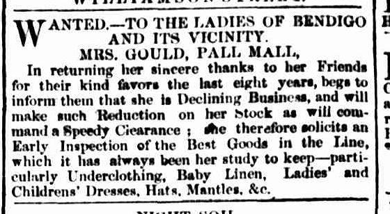 Bendigo Advertiser, 9 September 1861