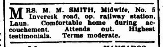 Launceston Examiner, 19 July 1899