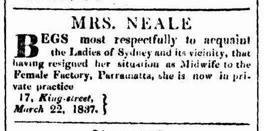 Sydney Herald, 23 March 1837