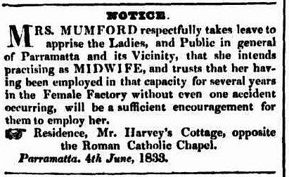 Sydney Monitor, 6 June 1833